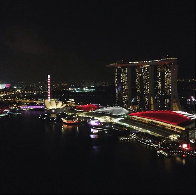 Actual view from sky gallery