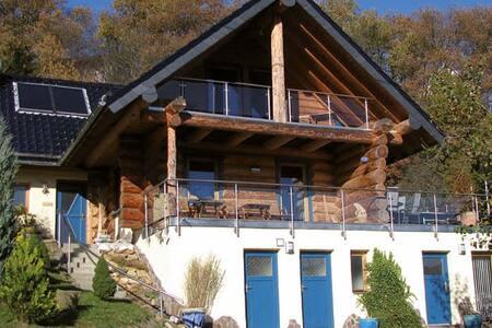 Baumstammhaus Eule in Rurberg am Rursee