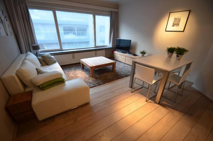 Knokke-Zoute appartement met Uitzicht op zee