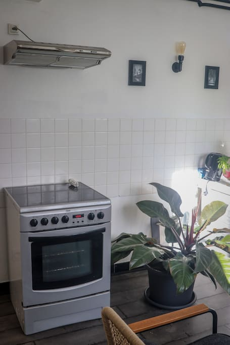Guest's Kitchen - oven