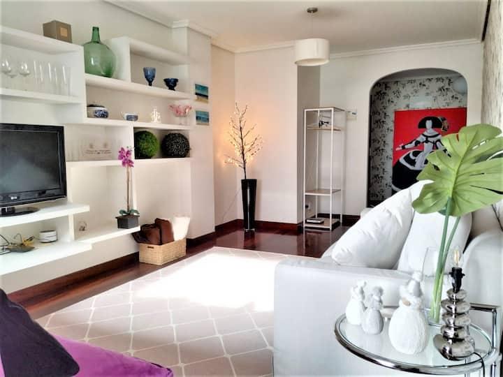 Lujoso apartamento con Garaje cerca del Sardinero.