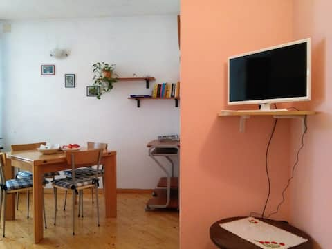 Le Betulle. A cozy tiny apartment with garden.