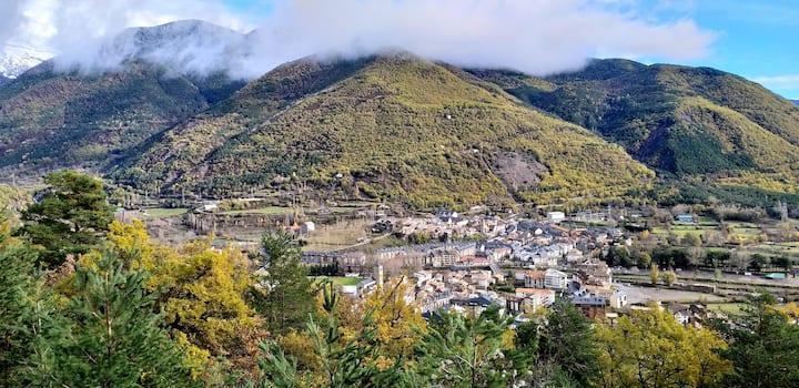Casa con las mejores vistas de Biescas