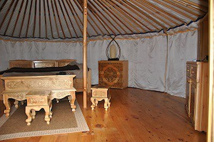YOURTES DU BOCAGE - Bazoges-en-Pareds - Yurt