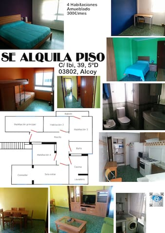 piso en alcoy - Alcoi - Apartment