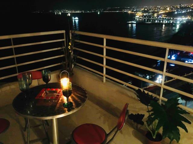 Valparaíso noches encantadas , dpto  full equipado