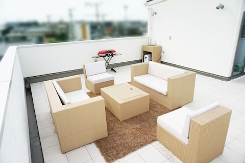 Newhouse! FUKUTSU 4 bedrooms 107㎡! 2parkings Wifi