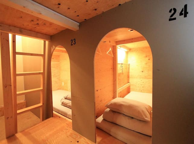 Ishigaki Guesthouse HIVE Bunk Bed Female Dormitory