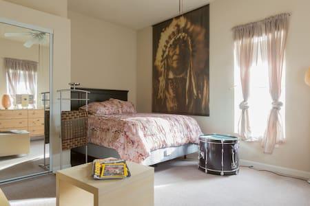 Modern Suite in Historic Victorian