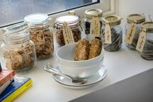 Cereals & Drinks for Breakfast