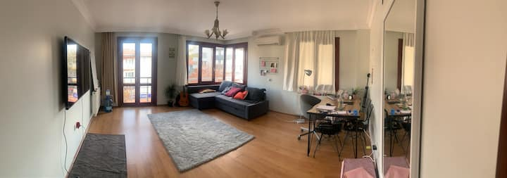 Clean organised apartment
