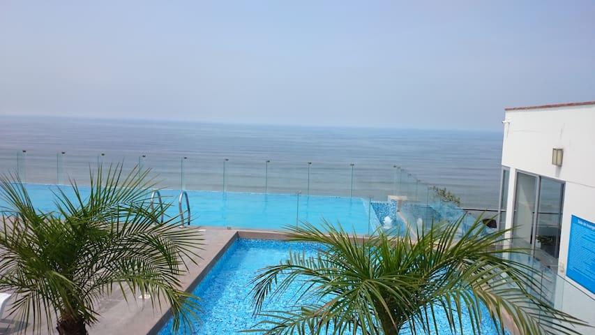Ocean View, Luxury Condo near Airport, Miraflores - San Miguel - Appartement en résidence