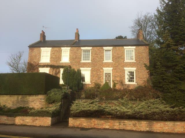 Ripon Centre:  Georgian House