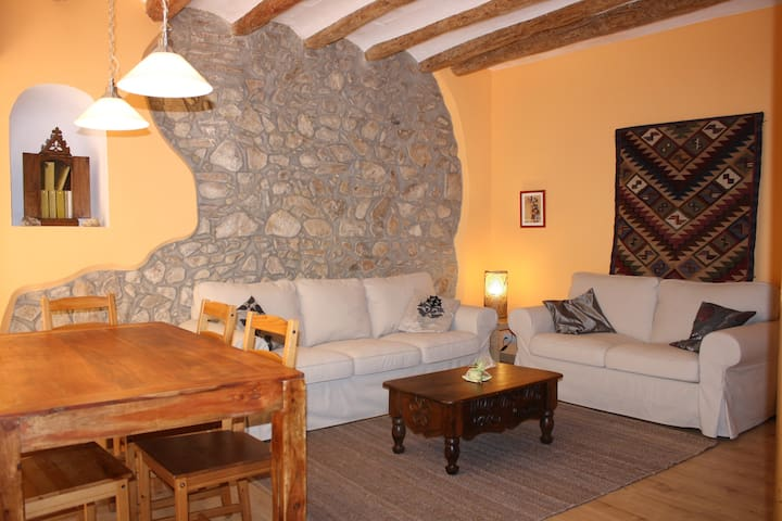 Cal Pedret, precioso apartamento en casa antigua - Riudecanyes - Dom