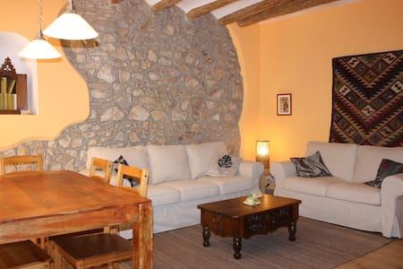 Cal Pedret, precioso apartamento en casa antigua - Riudecanyes - Hus