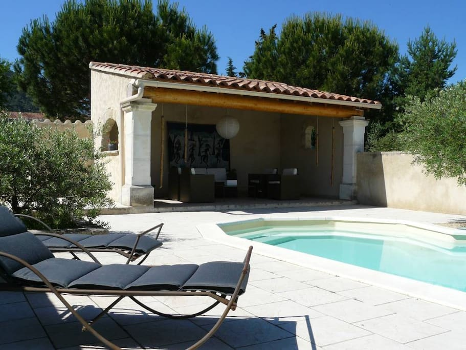 Villa piscine 6pl luberon provence maisons louer for Location villa piscine luberon