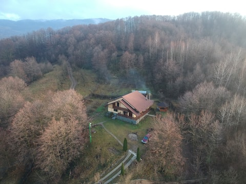 Ház az erdőben - nagyszerű elhelyezkedés és  kilátás