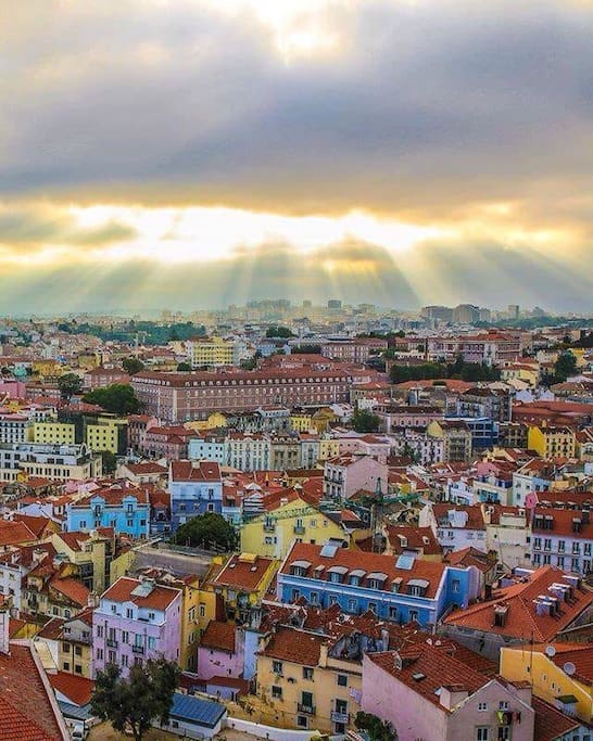 Vista sobre Lisboa (do Bairro Alto)