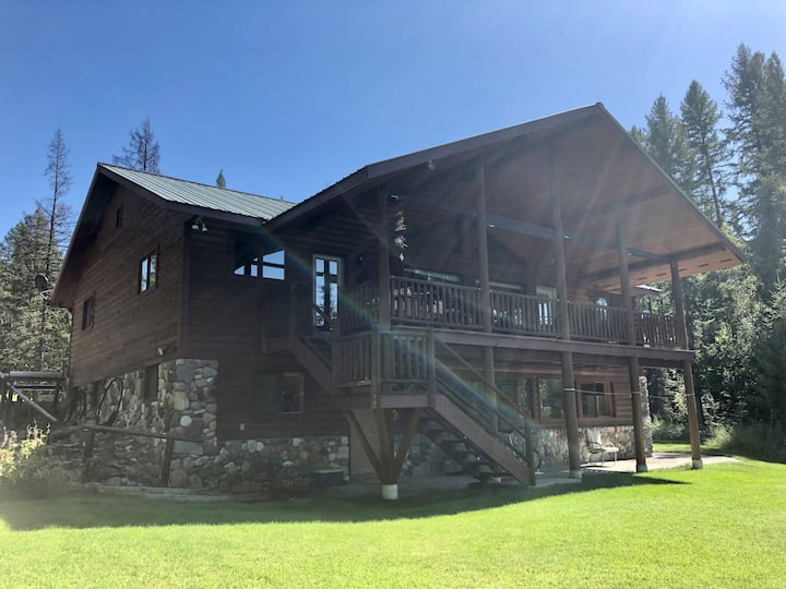 Glacier River House