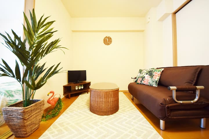 Popular area! Direct from Airport! Max 8ppl!AS201 - Minato-ku - Apartamento