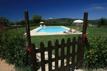 Lovely cottage with pool situated in Siena area - Casole d'Elsa - Rumah