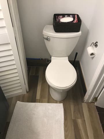 Bathroom toilet/throne fit for A king or Queen brand new bathroom experience it first.