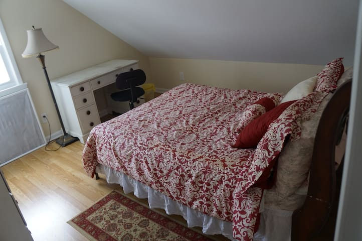 Comfortable Room near NYC w/ private bathroom - Bloomfield - Casa