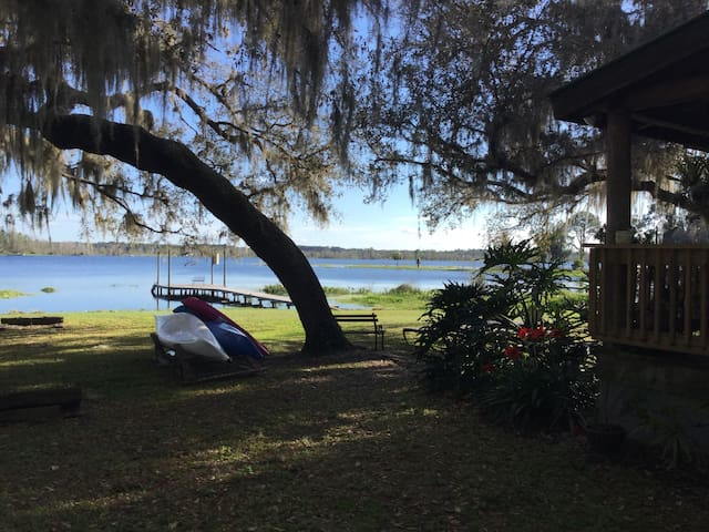 Canoes and kayaks on premises for your use