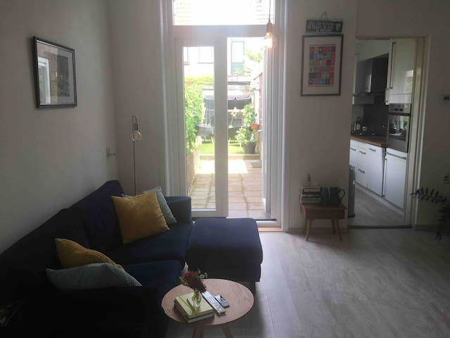 Private room 8min to Haarlem Station. With garden!