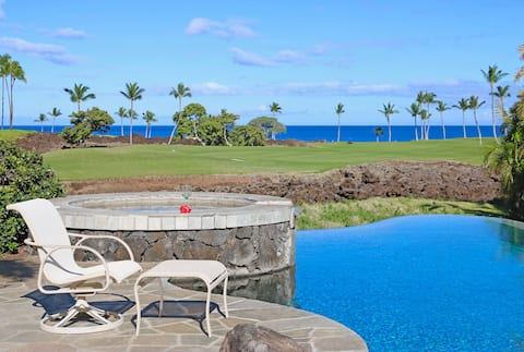 MLC03-The Cape at Mauna Lani - Private Home with Amazing Pool Backyard!