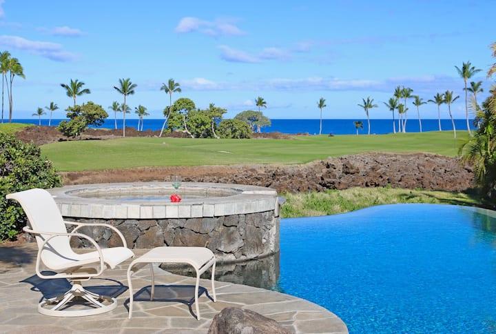 MLC03-4BR Home w/Ocean View, Pool & Walk to Beach!