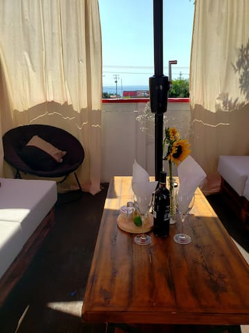 Cozy Studio with Ocean View