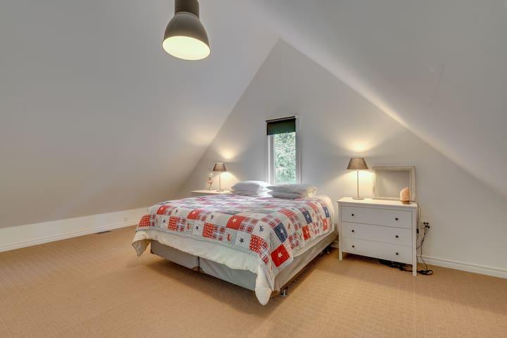 Master Bedroom. Top level