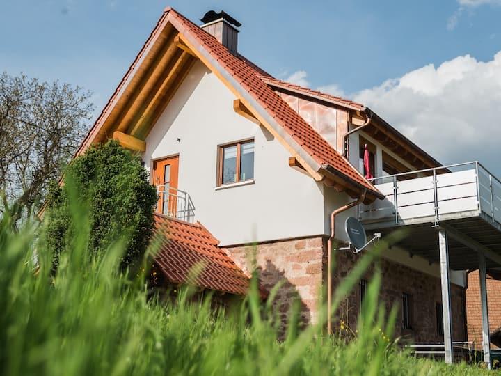 Vorderbühlhof, (Oppenau - Ibach), Kimmigs Ferienhäusle, 80qm, 2 Schlafzimmer für 2-4 Personen