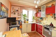 Cosy and spacious kitchen