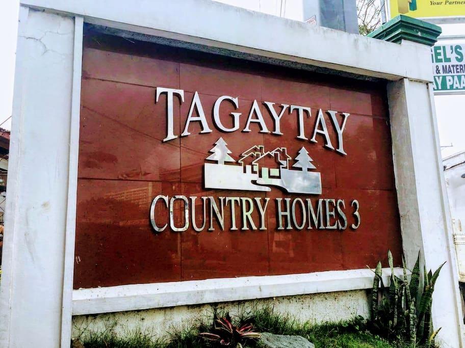 Along Emilio Aguinaldo Highway