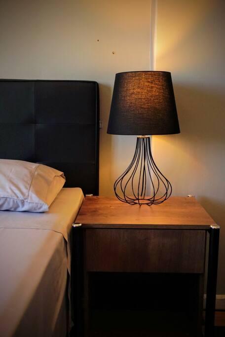 Quarto 1 - Iluminação indireta para maior conforto