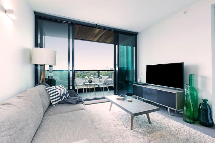 Boutique 2 Bed & 2 Bath Apart NEW - Melbourne - Apartamento