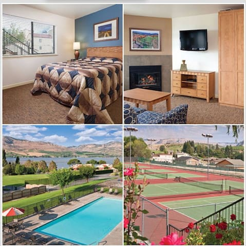 1 Bed Suite Wyndham Chelan Shores, WA
