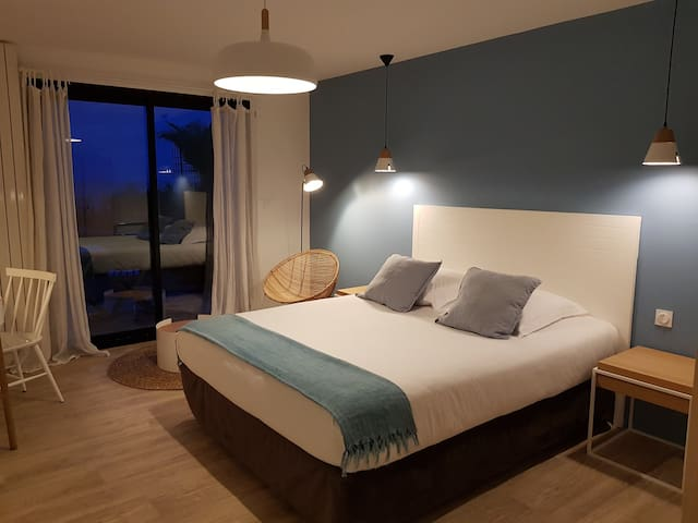 Spacious room with seaview and private terrace