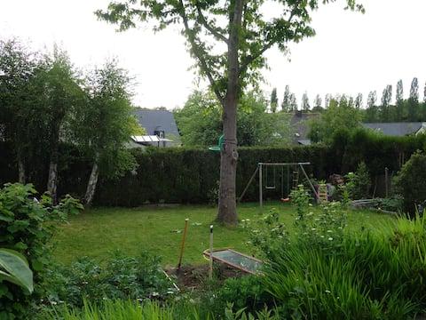 Maison familiale avec jardin (prox. Nantes)