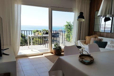 Designer penthouse above Cala de las Sirenas!!