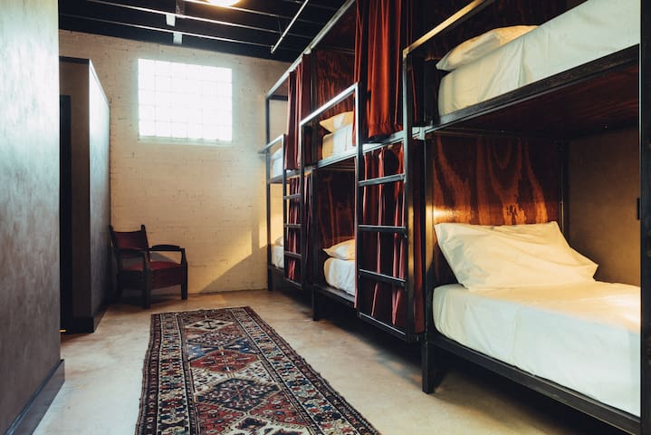 Native Hostel: 6 Bed Coed Dorm Bed