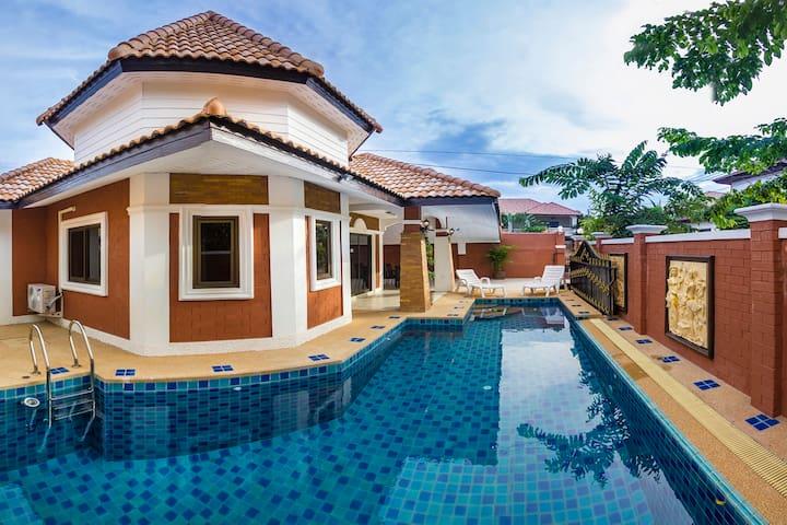 "villa ""marcel"" super bien située - Pattaya - Talo"