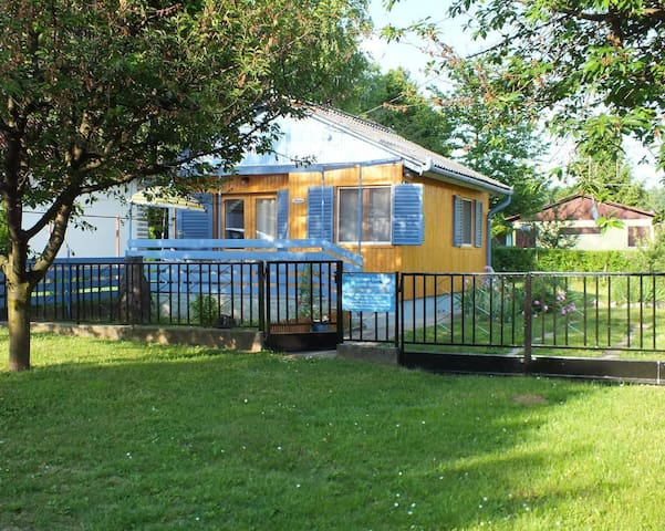 Holiday house with a fenced garden plot close to the thermal baths - ideal for relaxing holidays and day trips