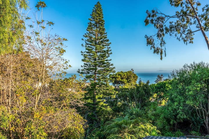Lookout Point 4 BR Home/ Pine Trees & Ocean View/ Jacuzzi/ Summerland