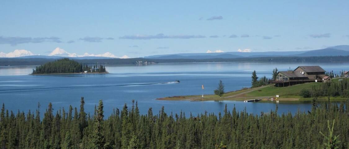 Point Lodge Alaska- Family Room