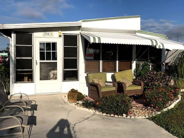 Naples Cozy Park Model cottage in RV Park