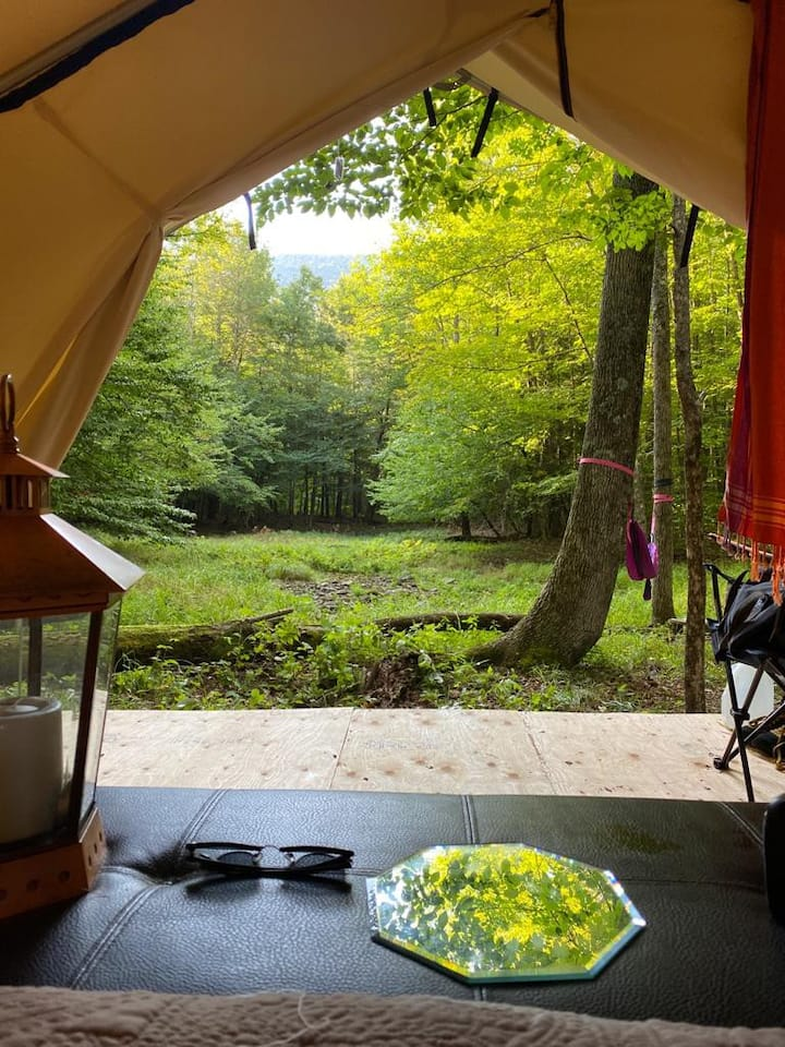 Private Glamping in the Heart of the Catskills!