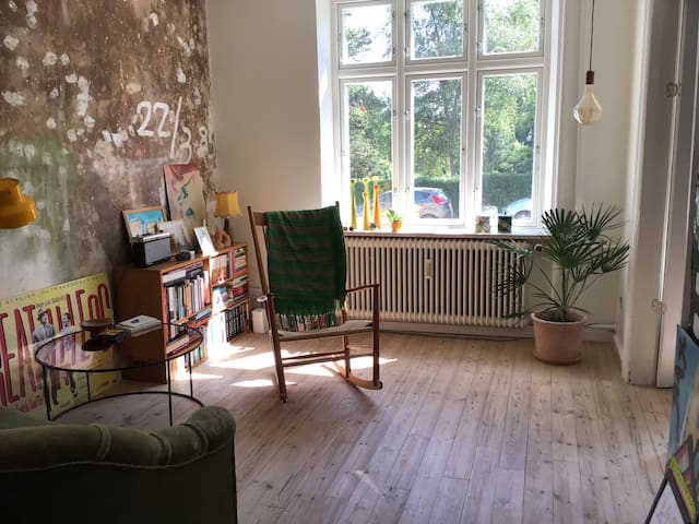 Spacious appartment close to downtown Aarhus & sea